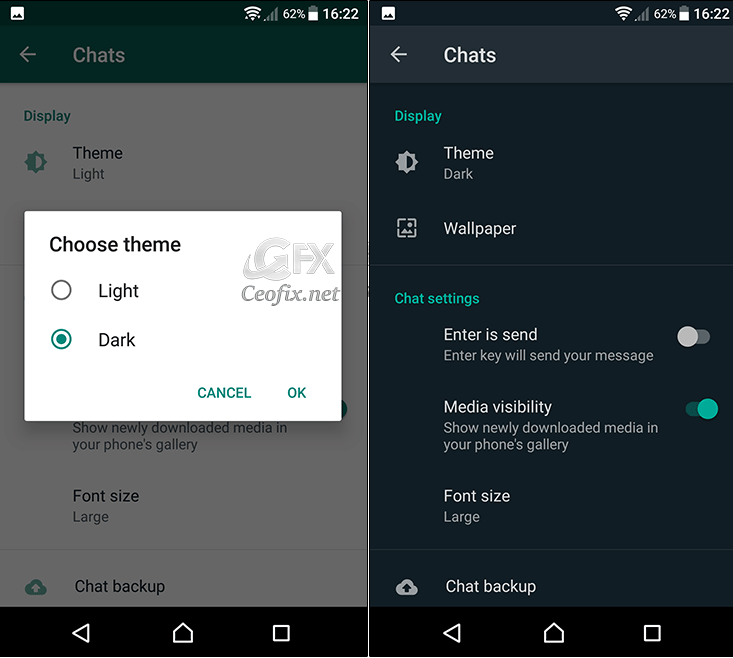 How To Enable Whatsapp Dark Mode On Android And Ios