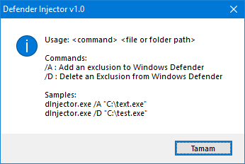 The easiest way to add exclusion for windows defender