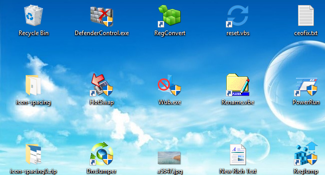 How to Change Desktop Icon Spacing in Windows