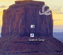 How To Add Snip & Sketch App Desktop Shortcut in Windows 10