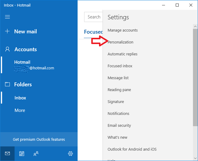 How To Enable Dark Mode Mail And Calendar App on Windows 10
