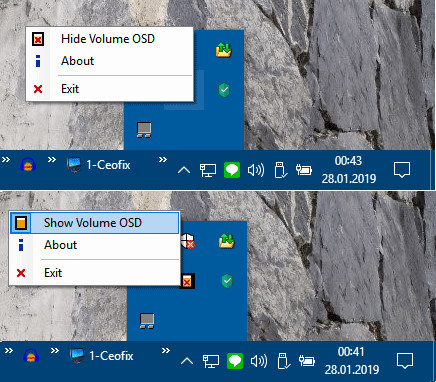 How to Hide the On-screen Volume Indicator in Windows 10