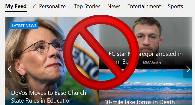 How to Disable Edge New Tab Pages Articles