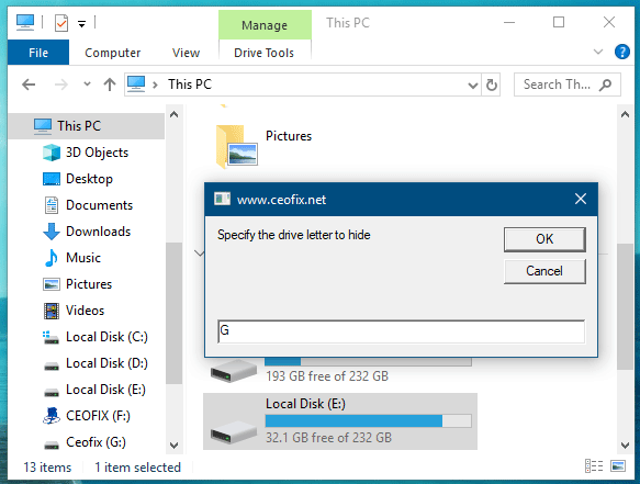How to Hide Specific Drives in Windows - easy and quick way -
