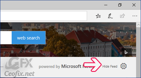 Disable Edge Start Page Article
