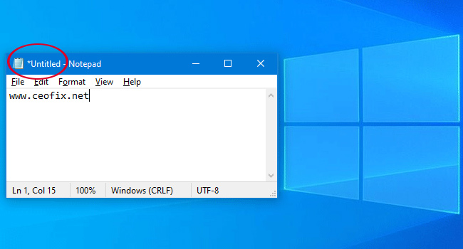 Windows 10 notepad improvements