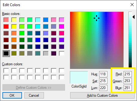 Change Default Window Background Color in Windows 10