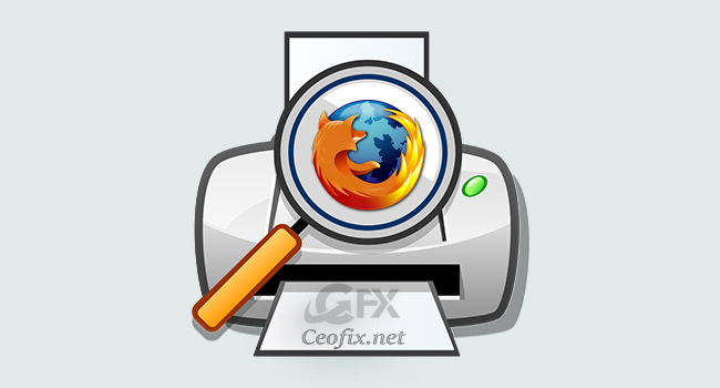 How to  Firefox Print Preview