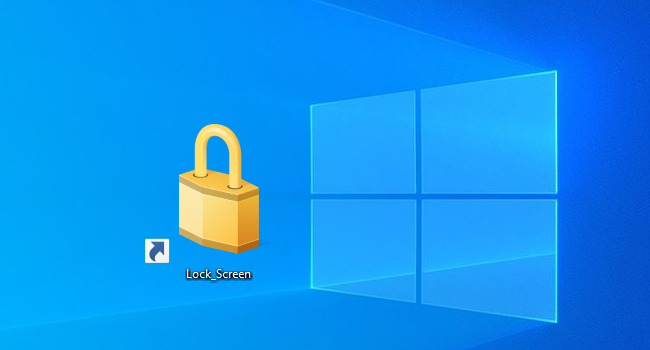Download Lock Shortcut in Windows 10