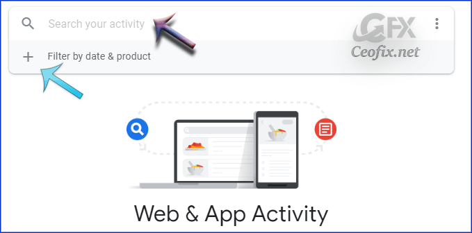 Delete or turn off My Activity in your Google Account