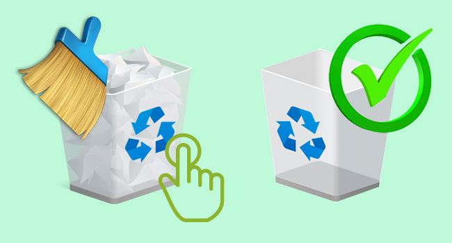 "How to add ""Empty Recycle Bin"" to Quick Access Toolbar"