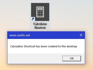 How to Create A Calculator Shortcut on Desktop