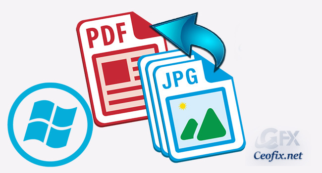 Save a image as PDF in Windows 10