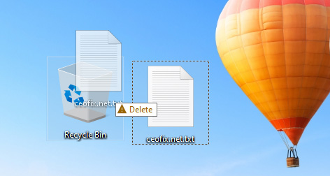 Bypass the Recycle Bin When Deleting Files on Windows 10