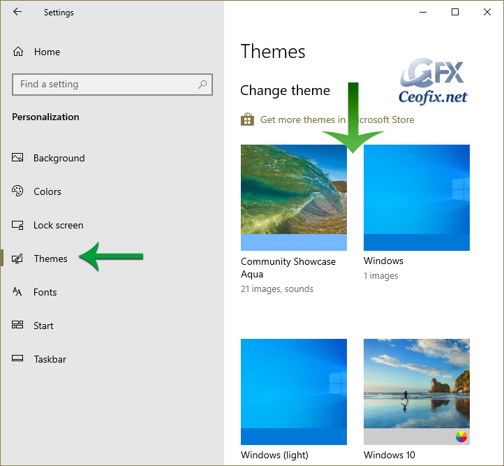 How to Change Theme in Windows 10