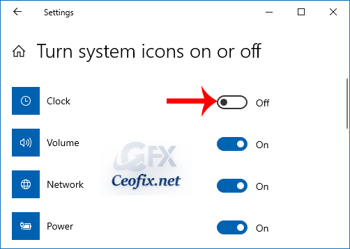 How to Remove or Add the Clock from the Windows 10 Taskbar