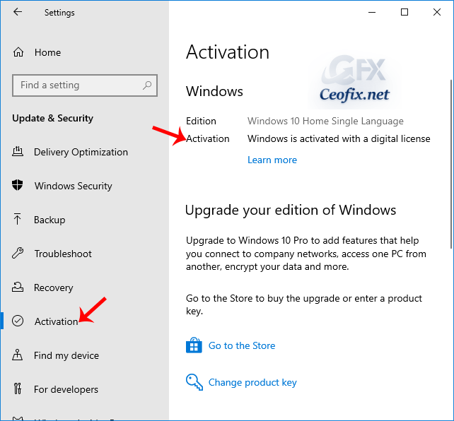 Check If Windows 10 Is Activated Using the Settings App