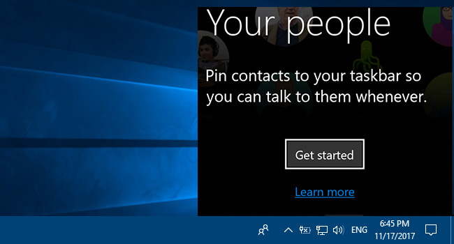 How To Add Or Remove People From Taskbar in Windows 10