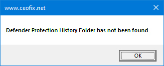 How to Clear Protection History in Windows Defender