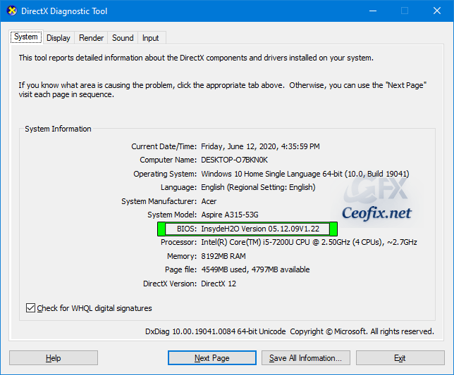 How to Check BIOS version