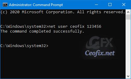 cmd user name