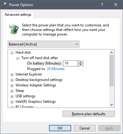 How to add Require password on Wakeup to Power Options in Windows