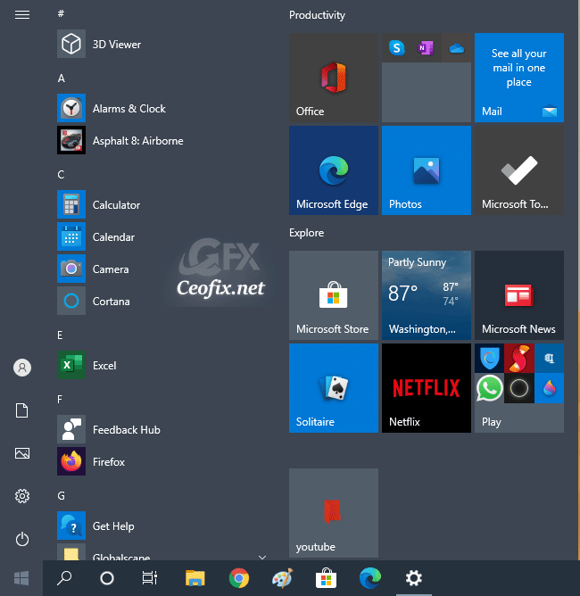 How to Show or Hide All Apps on Windows 10 Start Menu