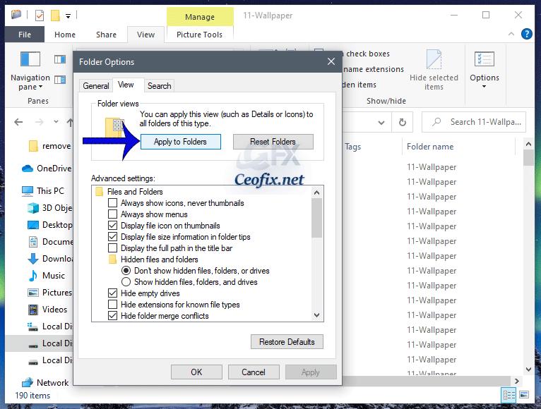 add columns to folders in Windows 10 Explorer