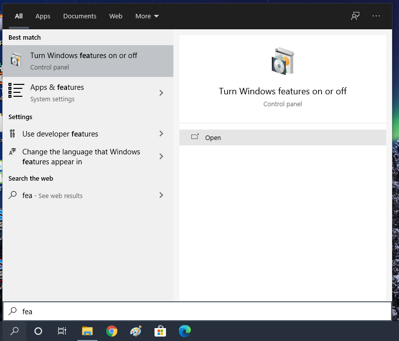3 Ways to Turn Windows Features On or Off in Windows 10