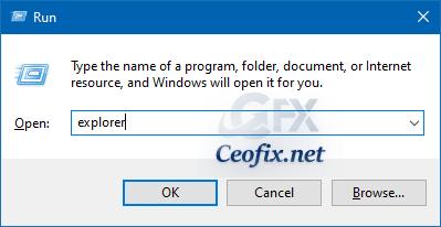 Open the File Explorer