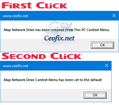 Remove Map Network Drive From Context Menu