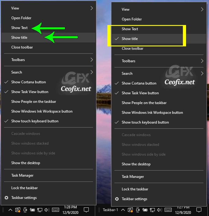 Toolbar title - toolbar text