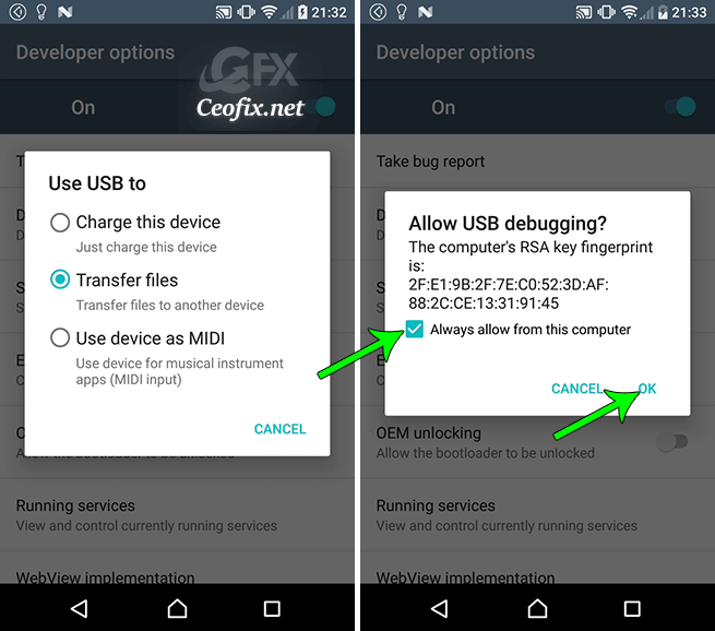 Enable USB Debugging Mode On Your Android Mobile Phone Device