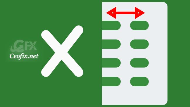 How To Change Column Width in Excel