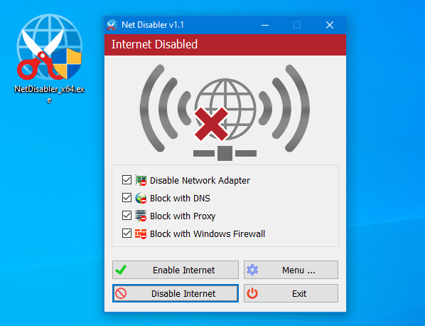 Easy Way To Disable Internet Access On Windows