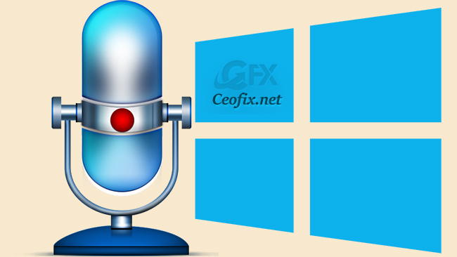 How to Open And Use Voice Recorder App in Windows 10