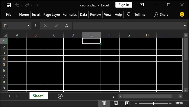 Use Dark Mode & Dark Cell Style IN Microsoft Excel And Word