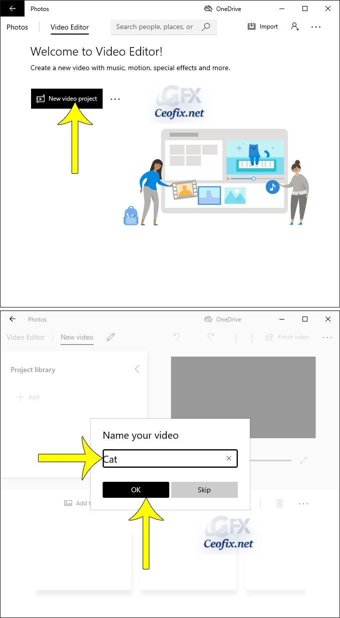 windows video edit