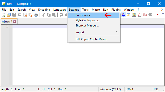 How to use Notepad++ Dark mode?