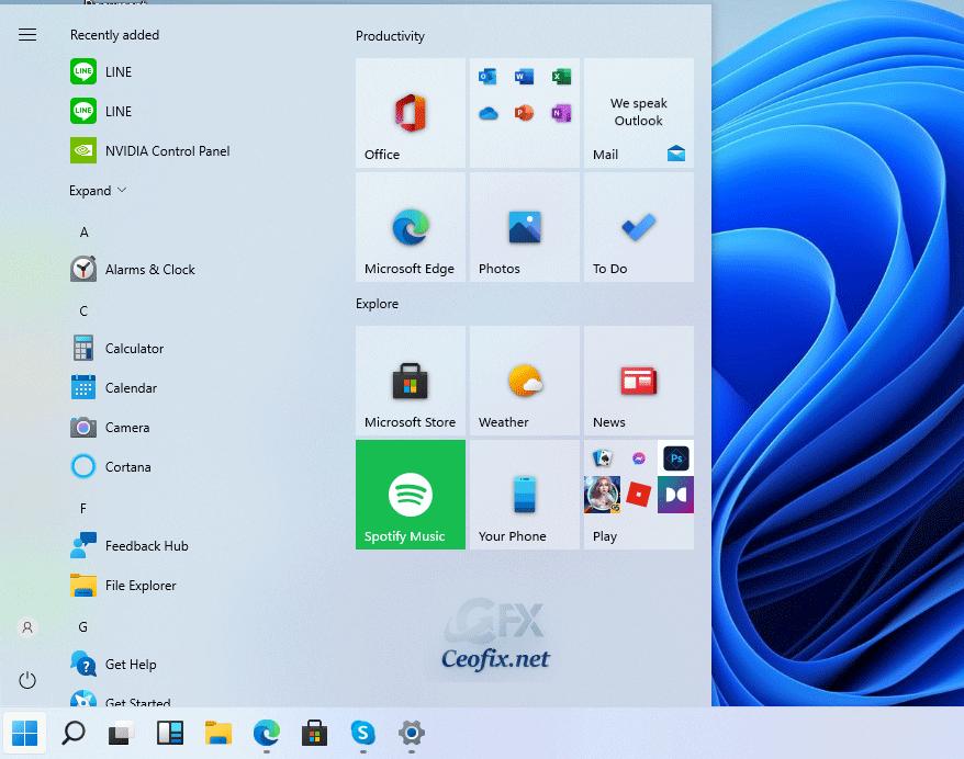 How to restore the Windows 10 Start Menu in Windows 11