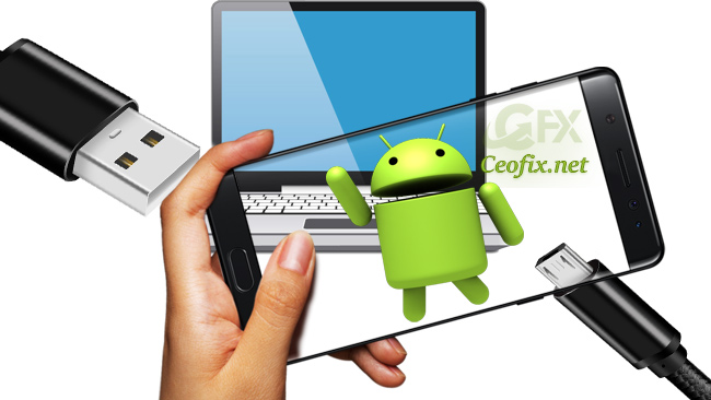 Locate USB Behavior Options And Enable File Transfer Mode