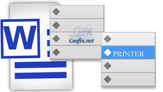 "Add Printer to ""Send to"" Context Menu on Windows"