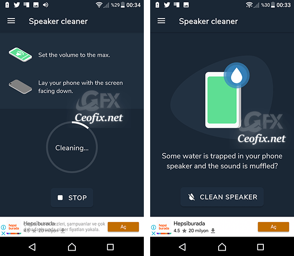 Apps To Fix Speaker Blockage on Android