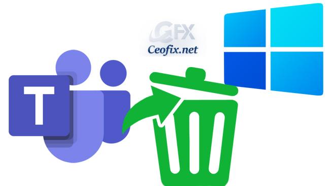 Uninstall Microsoft Teams on Windows 11