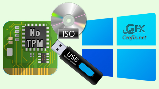 Install Windows 11 without TPM 2.0 & Secure Boot